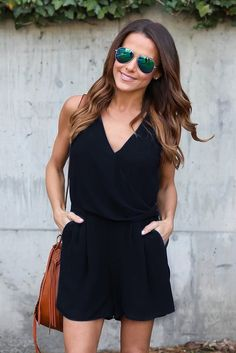 Summer Casual Playsuit Women Sexy Sleeveless Short Jumpsuit Shorts Solid Deep V Neck Overalls Rompers blue l Online Shopping Jumpsuit Casual, Jumpsuit Dress, Summer Jumpsuit, Summer Romper, Ladies Jumpsuit, Black Jumpsuit, Sparkly Jumpsuit, Casual Shorts, Woman Clothing