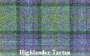 "Kilt Exclusive! The ""Highlander Tartan""  -  designed by Highlander Tartan Wear, Ayrshire, Scotland"