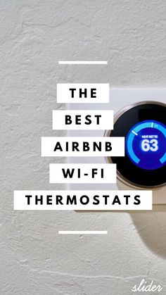 The 5 Best Airbnb Wi-Fi Thermostats The 5 Best Airbnb Wi-Fi Thermostats Rental Recon- Extra Income Through Airbnb 038 Vacation Rentals Host Ideas Essentials 038 nbsp hellip Guest Room Decor, Guest Room Office, Password Printable, Small Guest Rooms, Best Wifi, Power Bill, Airbnb Host, Green Home Decor, Air B And B