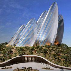 Zayed National Museum à Abu Dhabi -