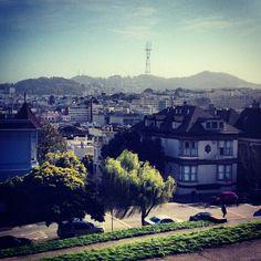 Alta Plaza Park in San Francisco, CA