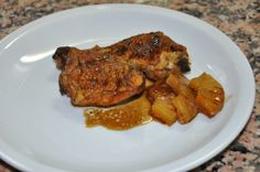 Chicken with pineapple | Pollastre amb pinya | lacuinanofapor