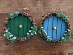 Christmas Wreaths To Make, Cheap Christmas, Christmas Fairy, Christmas Crafts, Christmas Decorations, Christmas Ornaments, Hobbit Door, The Hobbit, Bedroom Decor