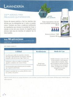 Aerosol prevalado quitamanchas Amway Home, Messages, Cleaning, Products, Home, Eco Friendly Homes, Amway Products, Spray Can, Entrepreneur