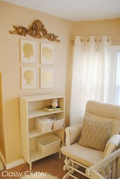 Baby's Mini Nursery Nook (in our Master Bedroom) - Classy Clutter