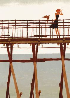 橋の上On Bridge