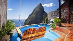 Ladera in Soufrière, Saint Lucia - Hotel Deals. Adult Only All Inclusive, All Inclusive Honeymoon, All Inclusive Resorts, Honeymoon Destinations, Honeymoon Ideas, Luxury Resorts, St Lucia Hotels, St Lucia Resorts, Romantic Resorts