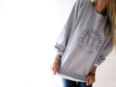 Remember Club Monaco sweatshirts? I loved mine!