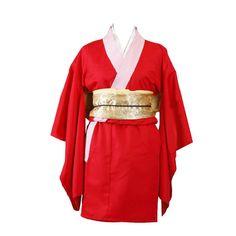 Gintama(SilSoul) Cosplay Costume - Kagura Kimono 6th XX-Large ** Click image for more details.