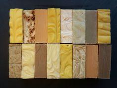 Efekt pracy wielu miesięcy. Moje ulubione to mydło pomidorowe i mydło bananowe. Deli, Soap, Bar Soap, Soaps