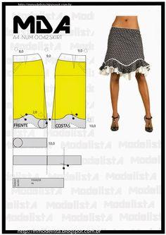 ModelistA: A4 NUM 0042 SKIRT