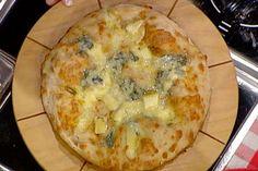 La prova del cuoco:Ricette martedì 18 febbraio 2014 Gabriele Bonci : Pizza ai quattro formaggi.-