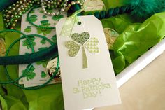 st patrick's day tag