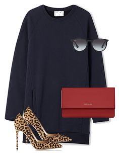 """""""Untitled #9652"""" by alexsrogers ❤ liked on Polyvore featuring Acne Studios, Gianvito Rossi, Yves Saint Laurent, Ray-Ban, women's clothing, women, female, woman, misses and juniors"""