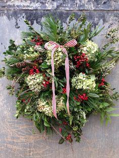 Garden Gate Flower Co   Christmas   Pinterest   Garden gate, Wreaths