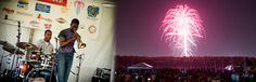 Times and locations for fourth of July festivities and firework displays in KCMO.