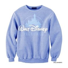 Wish List ❤ liked on Polyvore featuring tops, sweaters, shirts, disney, blue top, shirts & tops, blue sweater and blue shirt