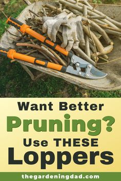 Do you want better pruning and a better garden?  Then use THESE Loppers!  Read this article for the 10 best loppers for your trees and garden, no matter what you grow.  Perfect for flowers, fruits, vegetables, herbs, and trees.  #loppers #pruning #gardening Gardening For Beginners, Gardening Tips, Raised Garden Beds, Raised Bed, Backyard Farmer, Growing Flowers, Growing Vegetables, Fruit Trees, Amazing Gardens