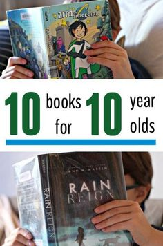 Chapter books for 10 year olds. Great for boys and girls. <-- yay!! A list that explicitly states that books are for everyone!