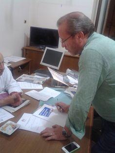 Formalizzata alle 19 di martedì 15 ottobre la candidatura alla segreteria provinciale del pd di Cosenza presente il coordinatore regionale Giovanni Pucci e il coordinatore provinciale Pietro Midaglia.