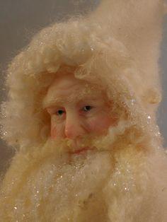Winter White Santa by Bonnie Jones