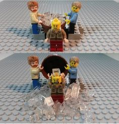 Everything is awesome about this Lego ice bucket challenge.
