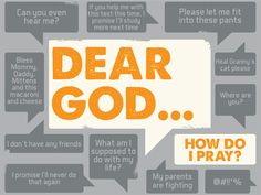 Series artwork for our high school ministry's series called Dear God... January 2013