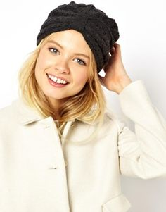 ASOS Cable Turban Hat
