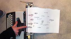 El arte escrito a máquina de Keira Rathbone