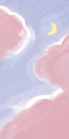 Cartoon Wallpaper, Cute Pastel Wallpaper, Soft Wallpaper, Anime Scenery Wallpaper, Cute Patterns Wallpaper, Iphone Background Wallpaper, Cute Anime Wallpaper, Galaxy Wallpaper, Cute Pastel Background