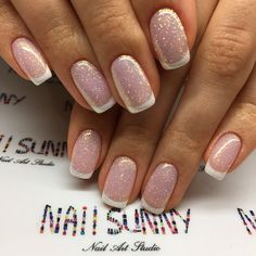 Shared by AVE_Victoria. Find images and videos about nail art on We Heart It - the app to get lost in what you love. Natural Nail Designs, Colorful Nail Designs, Pretty Nail Colors, Pretty Nails, Shellac Nail Polish, Sparkle, Holographic Nails, Types Of Nails, Stylish Nails