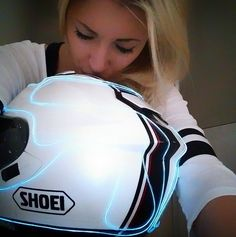 Shoei Helmet Luv.