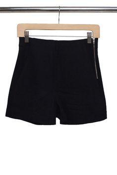 Hathaway Zipper Shorts | No Rest For Bridget