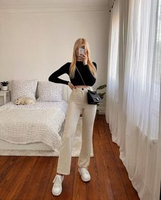Basic Outfits, Mode Outfits, Cute Casual Outfits, Stylish Outfits, Fashion Outfits, Womens Fashion, Look Blazer, Street Looks, Looks Style