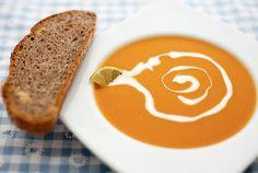 Süsskartoffel Curry Suppe