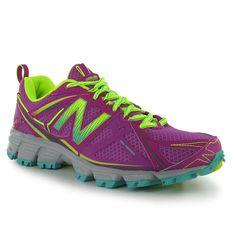 New Balance WT610 v3 Ladies Trail Running Shoes >> Now £39 #trainrunning #trail #run