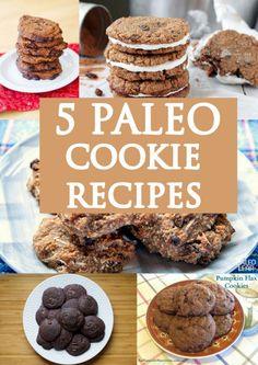 Paleo Cookie Recipes http://www.paleozonerecipes.com/paleo-dessert/paleo-cookie-recipes/ #paleo #recipes #glutenfree