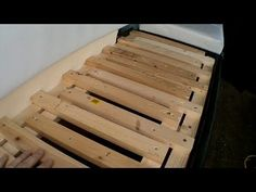 Rear Seat Boxes - Self Build Camper - YouTube