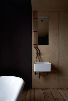 Industrial bathroom love Ironmongers' Quarters   Jonathan Tuckey Design