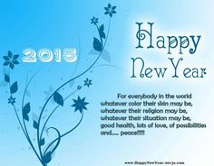 Happy New Year 2015 Quotes Messages