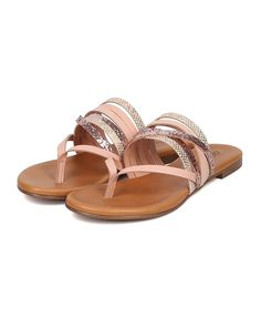 8b33789620f2 Breckelle s Women Strappy Slip On Sandal - Thong Sandal - Strappy Slide -  Dressy Flip Flop - by   Be sure to check out this awesome product.