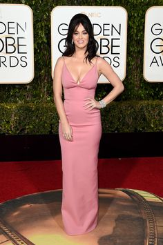 Katy Perry In Prada. 2016 Golden Globes Best Dressed List - Cosmopolitan.com
