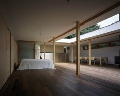 Tezuka Architects Courtyard House in Vegetable Field