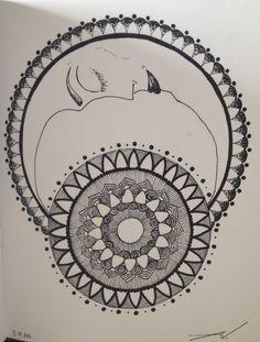 Mandala, Inspired, Drawings, Inspiration, Biblical Inspiration, Sketches, Drawing, Portrait, Draw