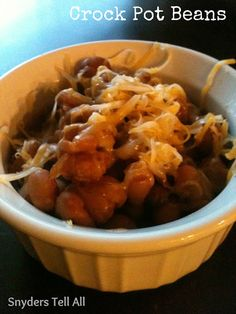 Snyders Tell All: Best Bean Recipe...in the Crock Pot