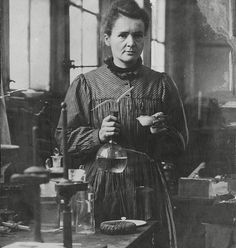 Pioneer: Marie Curie's work in chemistry made her the first woman ever to win a Nobel Prize, which she then went on to win again before dying of radiation poisoning in 1934 at the age of 66