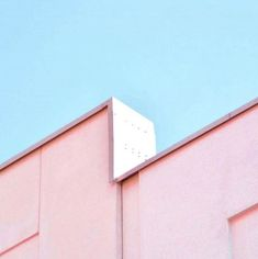 Nothing like pink architecture.