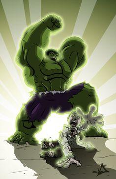 #Hulk #Fan #Art. (Hulk) By: Djoyce13.