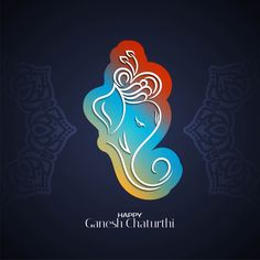 Ganesh Chaturthi Greetings, Happy Ganesh Chaturthi Wishes, Festival Background, Wedding Background, Free Vector Graphics, Vector Art, Vector File, Om Gam Ganapataye Namaha, Om Art