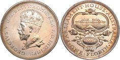 1927 Canberra Florin Proof